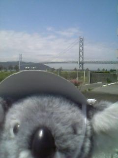 明石大橋と