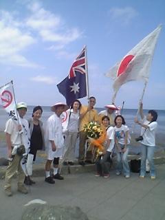 宗谷岬ゴール ありがとう!