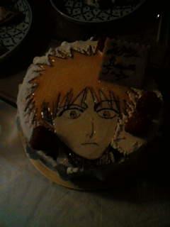 アニメケーキ